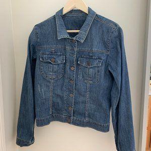 KUT from the Kloth Amelia Denim Jacket Size XL